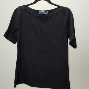 Karen Scott Womens Black Top/ Blouse Size Med.P